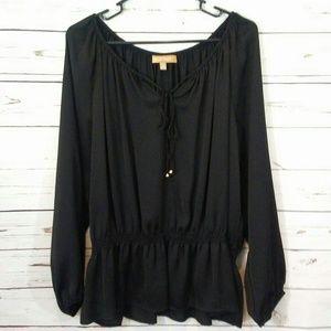 Ellen Tracy peasant blouse size xl